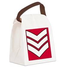 British-Army-Guards-Lance-Sergean Canvas Lunch Bag