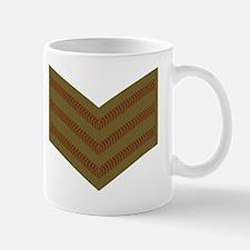 British-Army-Sergeant-Brown-Khaki-Small Small Mug.g Small Small Mug
