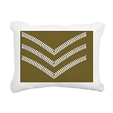 British-Army-Sergeant-Br Rectangular Canvas Pillow