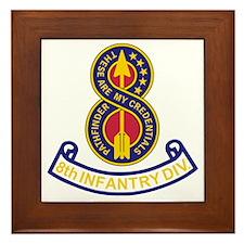 Army-8th-Infantry-Div-5-Bonnie.gif Framed Tile