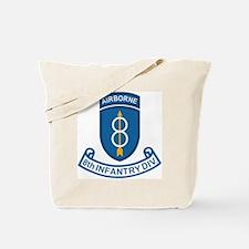 Army-8th-Infantry-Div-7-Bonnie.gif Tote Bag