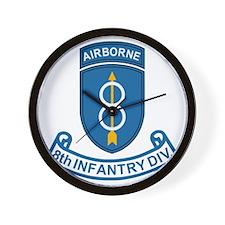 Army-8th-Infantry-Div-7-Bonnie.gif Wall Clock