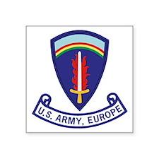 "3-Army-US-Army-Europe-2-Bon Square Sticker 3"" x 3"""