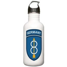 Army-8th-Infantry-Div- Water Bottle