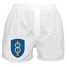 Army-8th-Infantry-Div-Dark Boxer Shorts