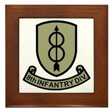 Army-8th-Infantry-Div-11-Bonnie.gif Framed Tile