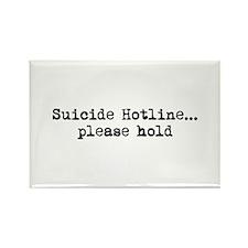 Suicide Hotline Rectangle Magnet
