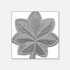 """Army-LtCol.gif Square Sticker 3"""" x 3"""""""