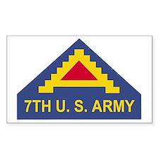 Army-7th-Army-Dark-X Decal