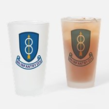 Army-8th-Infantry-Div-13-Bonnie.gif Drinking Glass