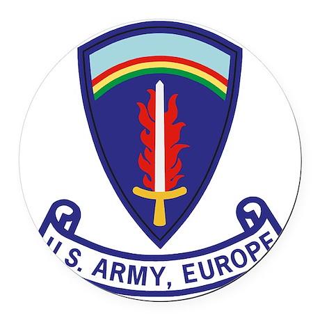 Army-US-Army-Europe-2-Bonnie.gif Round Car Magnet