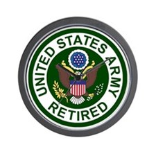 3-Army-Retired-For-Stripes-2.gif Wall Clock