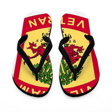 Military-Patch-Vietnam-Veteran-Bonnie-3 Flip Flops