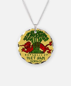 Military-Patch-Vietnam-Veter Necklace