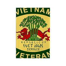 Military-Patch-Vietnam-Veteran-Bo Rectangle Magnet