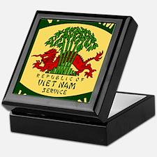 Military-Patch-Vietnam-Veteran-Bonnie Keepsake Box