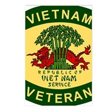 Military-Patch-Vietnam-Ve Postcards (Package of 8)