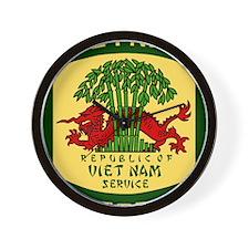 Military-Patch-Vietnam-Veteran-Bonnie-2 Wall Clock