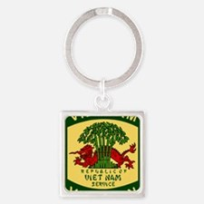 Military-Patch-Vietnam-Veteran-Bon Square Keychain