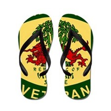 Military-Patch-Vietnam-Veteran-Bonnie-2 Flip Flops