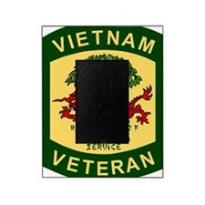 Military-Patch-Vietnam-Veteran-Bonni Picture Frame