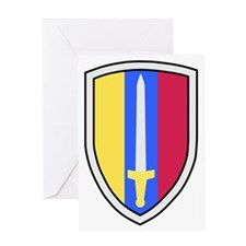 Army-USArmy-Republic-Vietnam-USARV-B Greeting Card