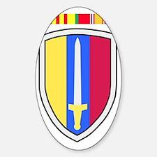 Army-USArmy-Republic-Vietnam-USARV- Sticker (Oval)