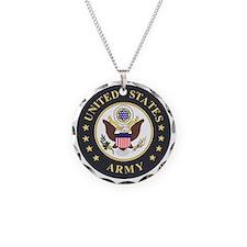Army-Emblem-3X-Blue.gif Necklace