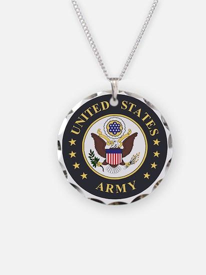 Army-Emblem-3X-Blue.gif Necklace Circle Charm