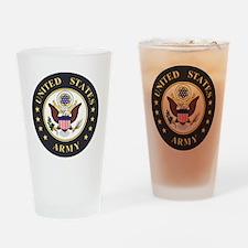 Army-Emblem-3X-Blue.gif Drinking Glass