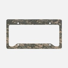 Army-PV2-Black-Cap License Plate Holder