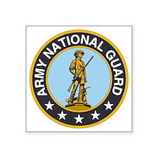 "ARNG-Logo.gif Square Sticker 3"" x 3"""