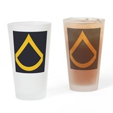 Army-PFC-Army-Blue-Magnet.gif Drinking Glass