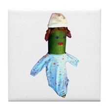 Zucchini Baby Tile Coaster
