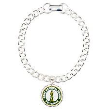ARNG-Veteran-3-Green.gif Charm Bracelet, One Charm