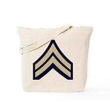 Army-CPL-WWII-Khaki-Cap.gif Tote Bag