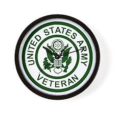 3-Army-Veteran-Army-Green.gif Wall Clock