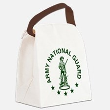ARNG-LOGO-Green-For-Yellow-Shirt. Canvas Lunch Bag