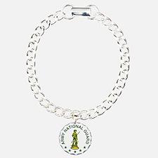 ARNG-LOGO-Green-Gold.gif Charm Bracelet, One Charm