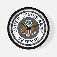 Army-Veteran-Army-Green-3.gif Wall Clock