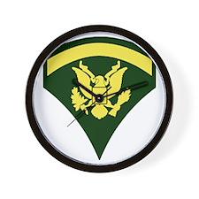 Army-Spec5-Green-Ca... Wall Clock