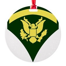Army-Spec5-Green-Ca... Ornament