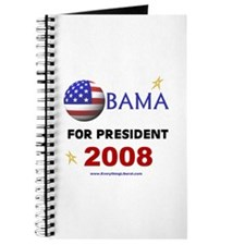 Obama For President 2008 Journal