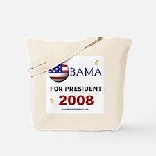 Obama For President 2008 Tote Bag