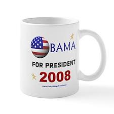 Obama For President 2008 Mug