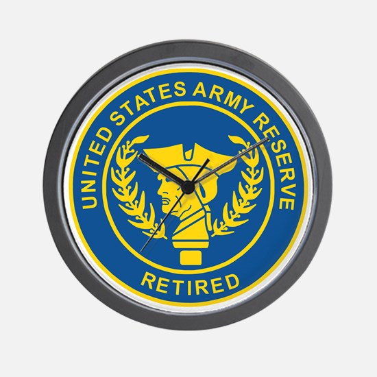 3-USAR-Retired-Bonnie.gif Wall Clock