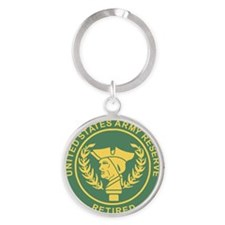 3-USAR-Retired-MP-Colors.gif Round Keychain