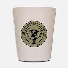 3-USAR-Retired-Black-On-Olive.gif Shot Glass