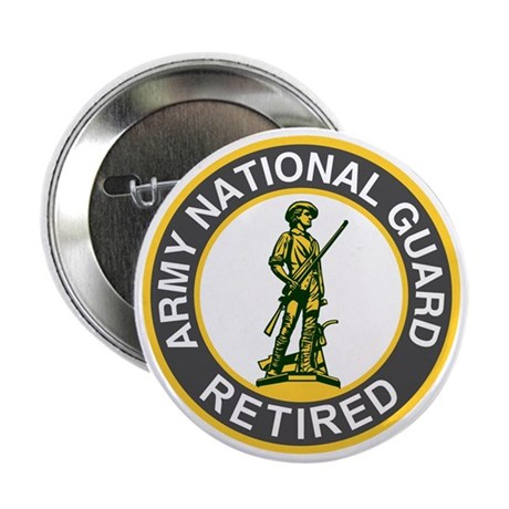 "ARNG-Retired-Green-Dark-Shirt 2.25"" Button"