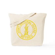 ARNG-Retired-Gold-Dark-Shirt Tote Bag